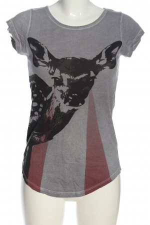Tigha T-shirt puntinato stile casual
