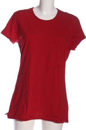 Tigha T-Shirt rot schlichter Stil