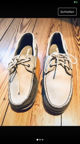 Timberland Zapatos de marinero beige claro-crema