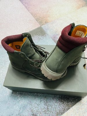 Timberland Lace-up Boots dark green-bordeaux