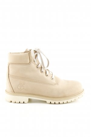 Timberland Ankle Boots, Gr. 39 creme/sand farbend, Casual-Look