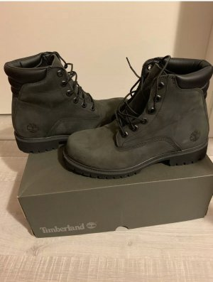 Timberland Snow Boots olive green leather