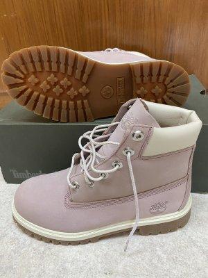 Timberland Lace-up Boots mauve