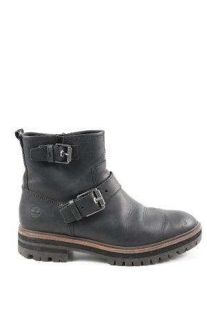 Timberland Booties schwarz Casual-Look