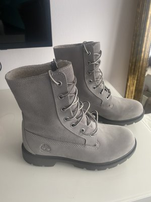 Timberland Short Boots grey-light grey leather