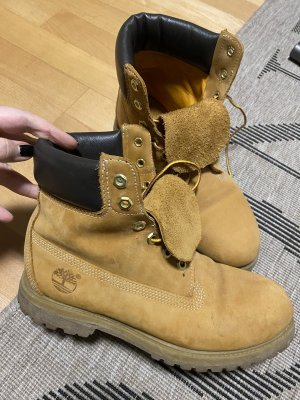 Timberland Lace-up Booties sand brown