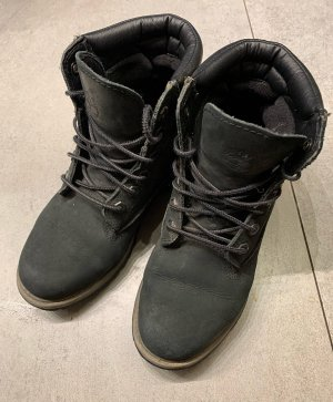 Timberland Lace-up Booties black leather