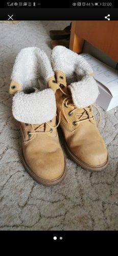 Timberland Botas de nieve marrón arena