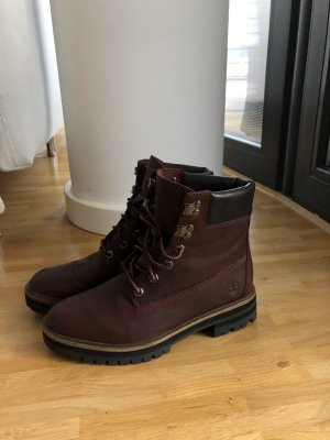 Timberland Ankle Boots brown red leather