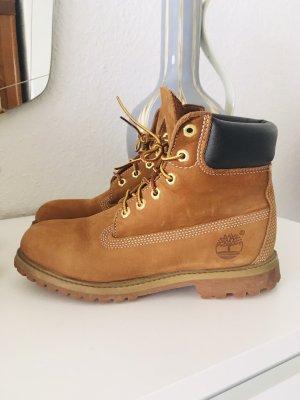Timberland Zapatos brogue negro-marrón arena