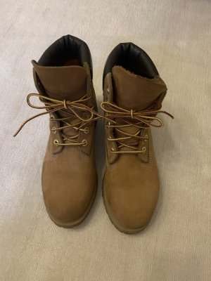 Timberland Boots in Nubukleder in braun