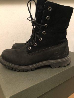 Timberland Boots mit Teddy Fleece