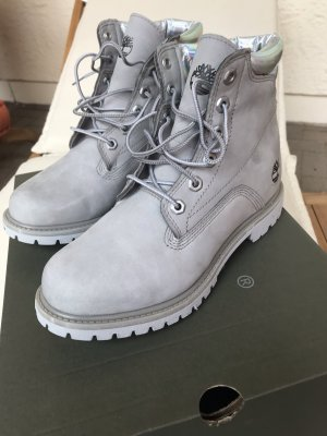 Timberland Desert Boots silver-colored leather
