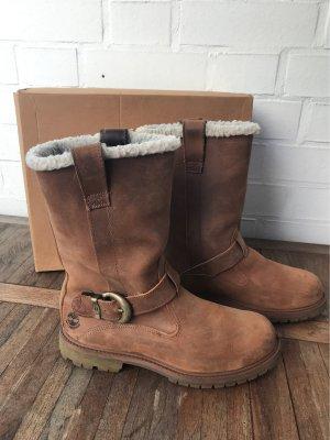 Timberland Boots Stiefel Leder camel