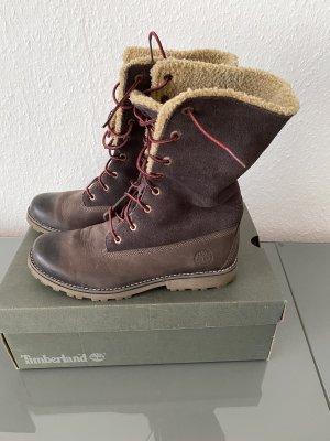 Timberland Boots Stiefel mit Futter zum umschlagen
