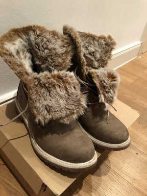 Timberland Fur Boots multicolored
