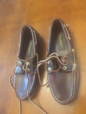 Timberland Chaussures bateau brun-cognac