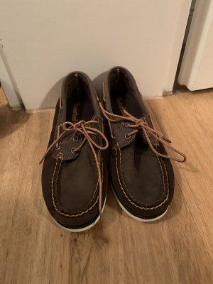 Timberland Sailing Shoes dark brown