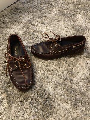 Timberland Zapatos de marinero marrón