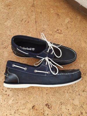 Timberland Bootsschuhe / Segelschuhe  blau