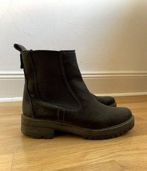 Timberland COURMAYEUR VALLEY Chelsea Boots in SCHWARZ
