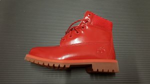Timberland Fur Boots multicolored leather