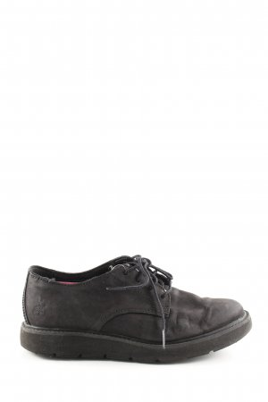 Timberland Scarpa Derby nero stile casual