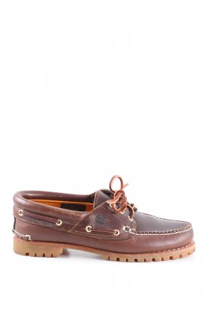Timberland Derby brown casual look