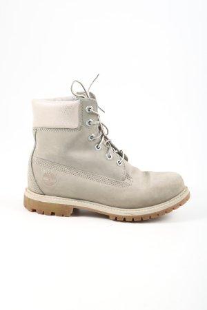 Timberland Chukka boot gris clair-blanc cassé style décontracté