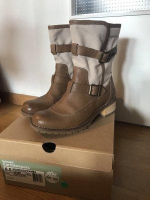 Timberland Earthkeepers Boots Leder und Leinen Gr. 37,5