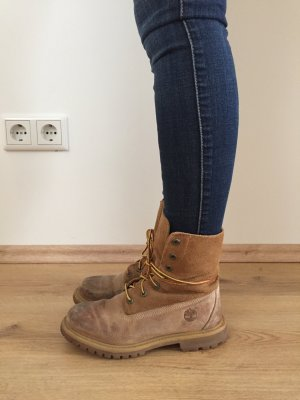 Timberland Ankle Boots light brown leather