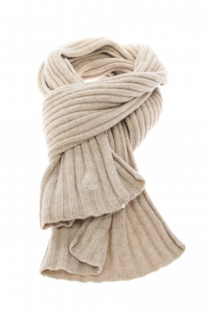 Timberland Crochet Scarf natural white casual look