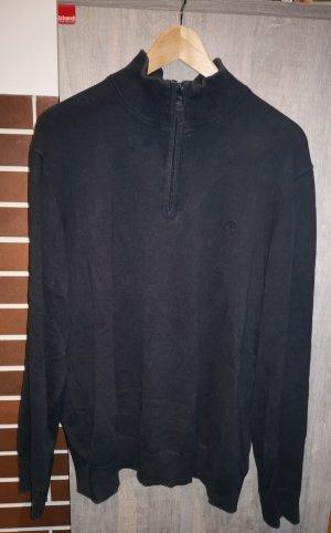 Timberland Jersey de cuello alto azul oscuro