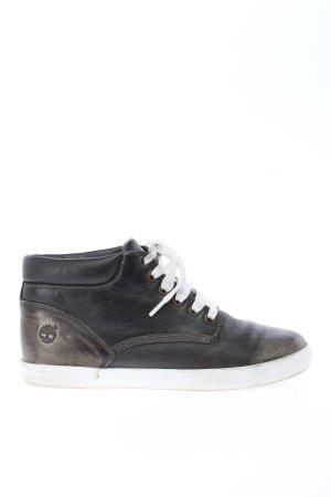 Timberland High Top Sneaker schwarz-braun Casual-Look