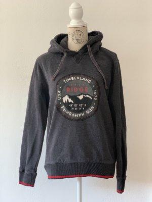 Timberland Sweat à capuche gris anthracite-gris foncé