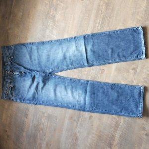Timberland Five-Pocket Trousers blue mixture fibre