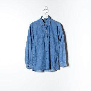 Timberland Camicetta a maniche lunghe blu Cotone