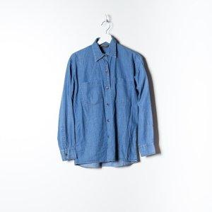 Timberland Blouse à manches longues bleu coton