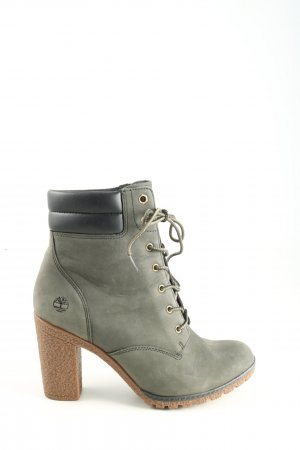Timberland Wedge Booties khaki-black quilting pattern casual look