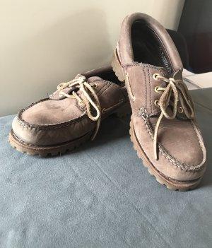 Timberland Zapatos de marinero marrón grisáceo-marrón claro