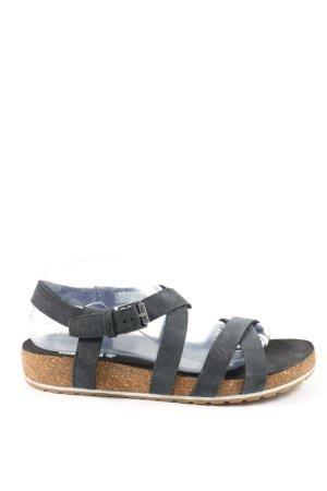 Timberland Comfort Sandals black-brown casual look