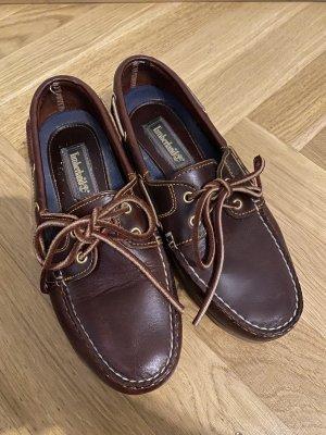 Timberland Moccasins black brown-dark brown leather