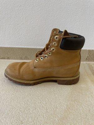 Timberland Aanrijg laarzen lichtgeel-beige