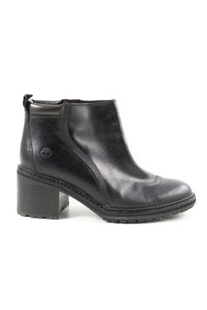 Timberland Reißverschluss-Stiefeletten schwarz Casual-Look
