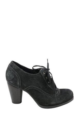 Timberland Schnür-Stiefeletten schwarz Motivdruck Casual-Look