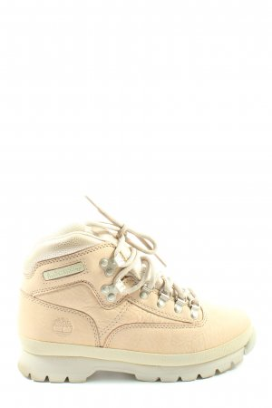Timberland Lace-up Booties nude-cream casual look