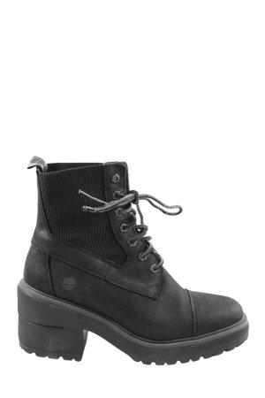 Timberland Schnür-Stiefeletten schwarz Casual-Look