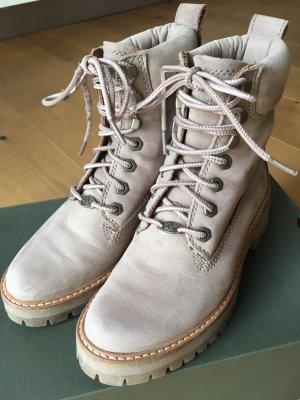 Timberland Chukka boot gris brun cuir