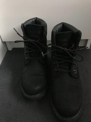 Timberland Aanrijg laarzen zwart