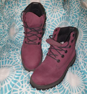 Timberland Bottillons rouge mûre